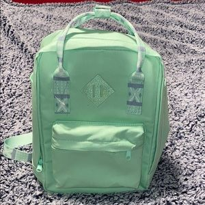 Aztec Mint Green backpack purse 7 total po…